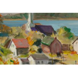 View 2: Arthur R. Safford (American, 1900-1992) Oil on Canvas