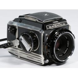 View 2: Bronica S-2 Camera and accessories