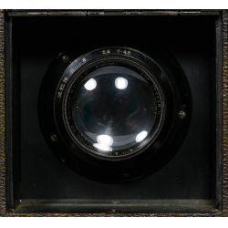 View 3: Auto Graflex Bausch-Lomb 4x5 Tessar camera
