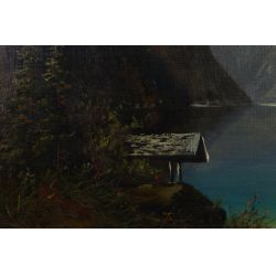 View 3: M. J. Werner Meier (German, 20th Century) Oil on Canvas