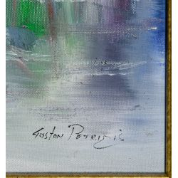 View 3: Gaston Petridis (American, 20th Century) Oil on Canvas