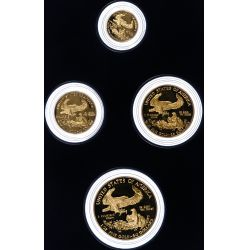 View 2: 1988-W Gold American Eagle Proof Set