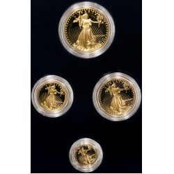1990-W American Eagle Gold Proof Set