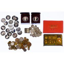 View 2: World: Coin Assortment