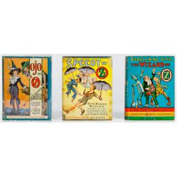 View 3: Ruth Plumly Thompson Wizard of Oz Book Assortment