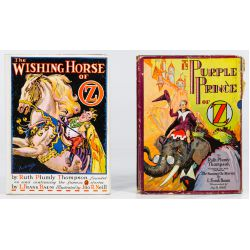 View 8: Ruth Plumly Thompson Wizard of Oz Book Assortment