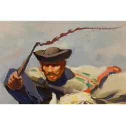 View 2: J Viski (Hungarian, 1891-1961) Oil on Canvas
