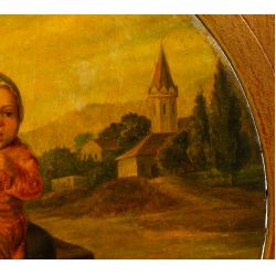 View 3: Unknown Artist (Continental School, 19th / 20th Century) Oil on Board