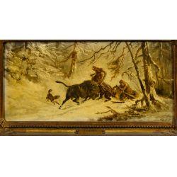 View 2: Jwan Petowitsch Orloff (Russian, 1815-1861) Oil on Board
