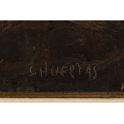 View 4: Segundo Heurtas (Argentinian, 1923-2010) Oil on Canvas