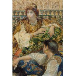 View 2: Gustavo Simoni (Italian, 1846-1926) Watercolor on Paper
