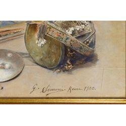 View 6: Gustavo Simoni (Italian, 1846-1926) Watercolor on Paper