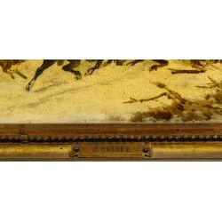 View 4: Jwan Petowitsch Orloff (Russian, 1815-1861) Oil on Board
