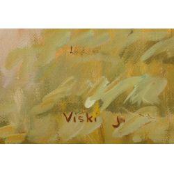 View 3: J Viski (Hungarian, 1891-1961) Oil on Canvas
