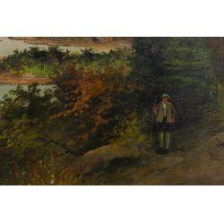 View 2: Adhemar Richard (Swiss, b.1858) Oil on Canvas