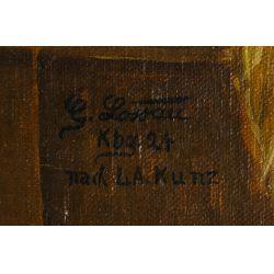 View 4: G Lassau (European, 20th Century) Oil on Canvas