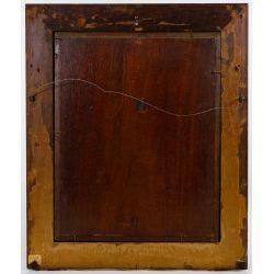 "View 5: Hippolyte Francois Leon Duluart (French, 1871-1953) ""Le Porte-Etendard"" Oil on Board"