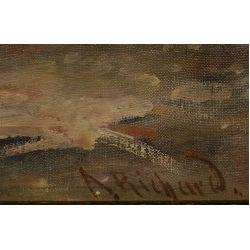 View 4: Adhemar Richard (Swiss, b.1858) Oil on Canvas