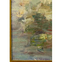 View 3: A. Rieser (American, 20th Century) Oil on Canvas