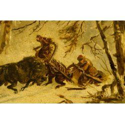 View 3: Jwan Petowitsch Orloff (Russian, 1815-1861) Oil on Board