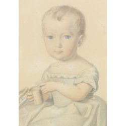 View 2: Unknown Artist (American, 19th Century) Watercolor on Paper