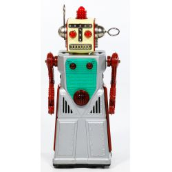 """View 2: KO Japanese """"Chief Robotman"""" Battery Operated Toy"""