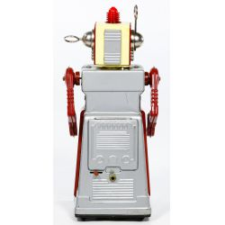 """View 4: KO Japanese """"Chief Robotman"""" Battery Operated Toy"""