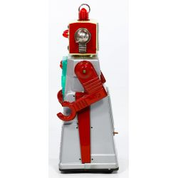 """View 3: KO Japanese """"Chief Robotman"""" Battery Operated Toy"""