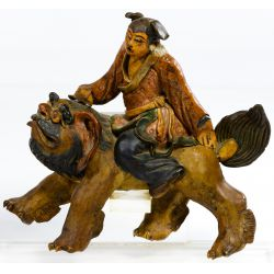 View 3: Chinese Ceramic Figural Roof Tiles