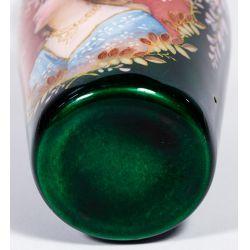 View 5: French Enamel Portrait Vase