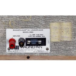 View 4: Magneplanar Model SMG Speaker Set