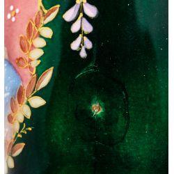 View 6: French Enamel Portrait Vase