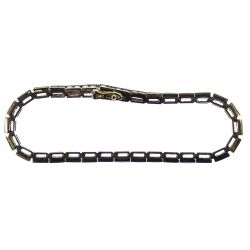 View 2: 14k Gold and Diamond Tennis Bracelet