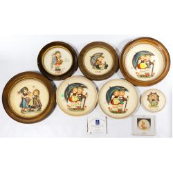 View 3: Hummel / Goebel Figurine and Plate Assortment