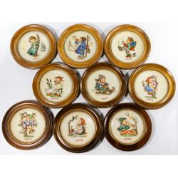 View 2: Hummel / Goebel Figurine and Plate Assortment