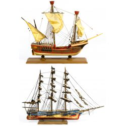 View 2: Wood Ship Models
