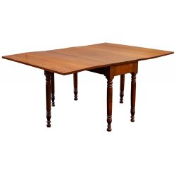 View 2: Cherry Drop Leaf Table