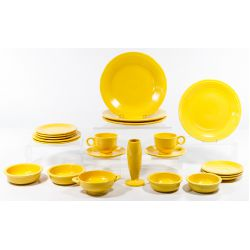 "View 3: Homer Laughlin Fiestaware ""Yellow"" Collection"