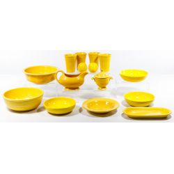 "View 2: Homer Laughlin Fiestaware ""Yellow"" Collection"