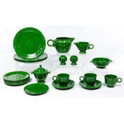 "View 2: Homer Laughlin Fiestaware ""Forest Green"" and ""Chartreuse"" Assortment"