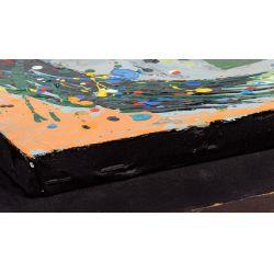 "View 9: Vladimir Cora (American / Mexican, b.1951) ""Los Mirones"" Oil on Canvas on Board"
