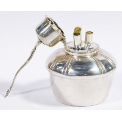 """View 4: Tiffany & Co. """"Chrysanthemum"""" Sterling Silver Tea and Coffee Service"""