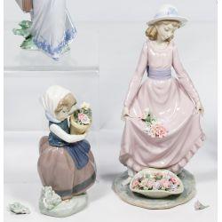 View 4: Lladro Figurine Assortment