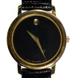 "View 4: Movado ""Museum"" Wrist Watch"