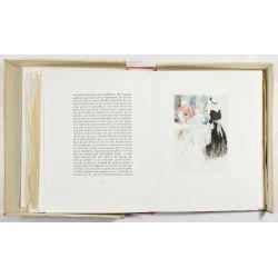 """View 3: Louis Icart (French, 1888-1950) """"La Nuit et Le Moment"""" Book"""