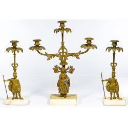 View 4: Brass Girandola Candleabra Sets