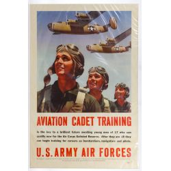 View 3: World War II US Army Air Force Recruiting Posters