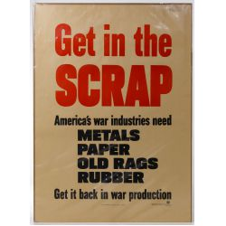 """View 2: World War II US """"Recycle / Reduce"""" War Posters"""