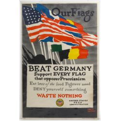 """View 4: World War II US """"Recycle / Reduce"""" War Posters"""