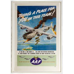 View 2: World War II US Army Air Force Recruiting Posters